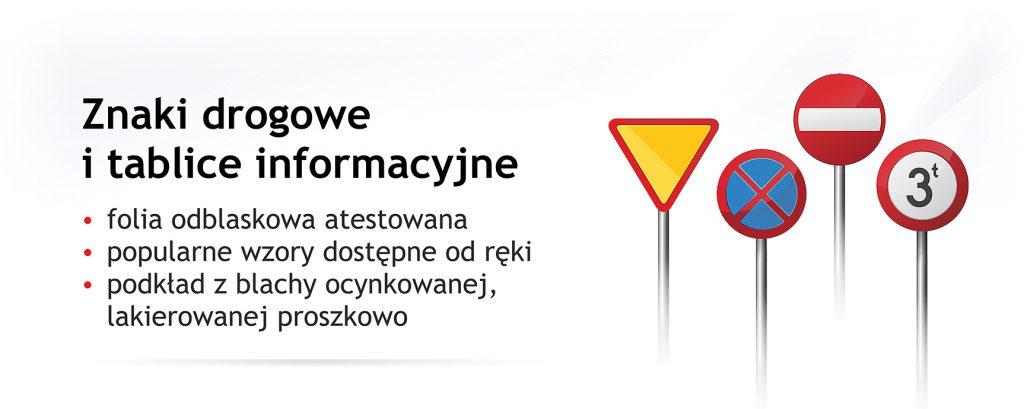 znaki drogowe sklep producent